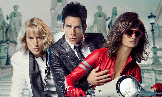 STILLER GETS HANDS ON IN NEW ZOOLANDER 2 MOVIE POSTER